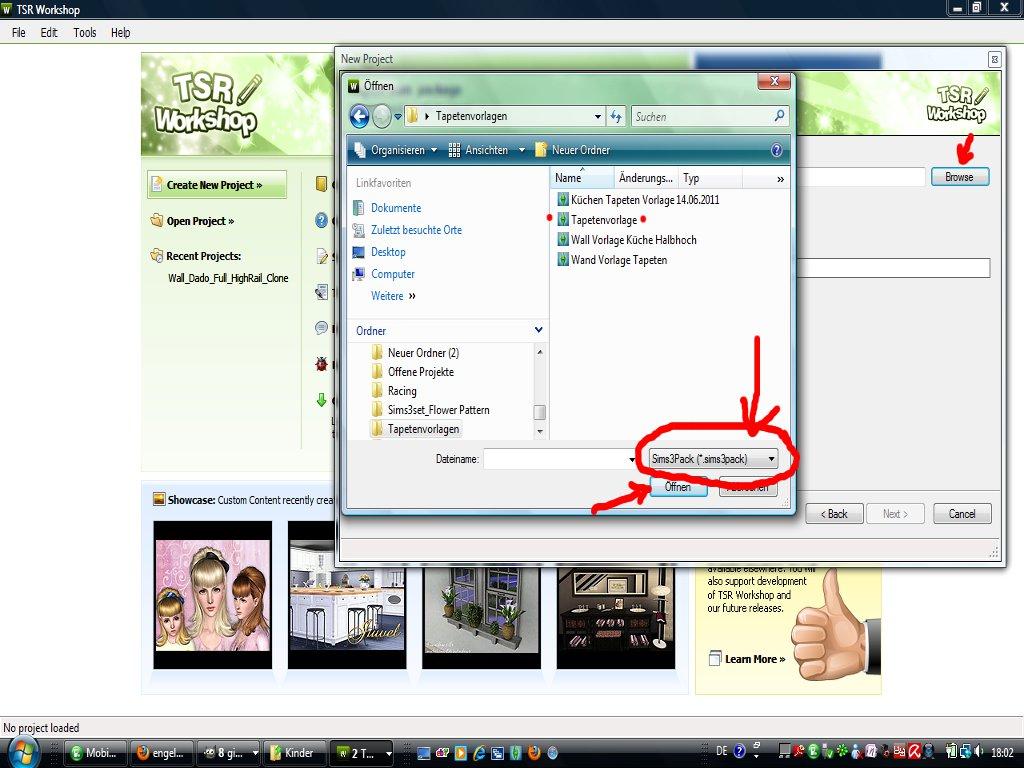 engelchen: Tapete erstellen und bearbeiten V - für Sims3 - erstellte ...