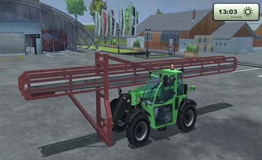 Telehandler conveyor belt v 1.0