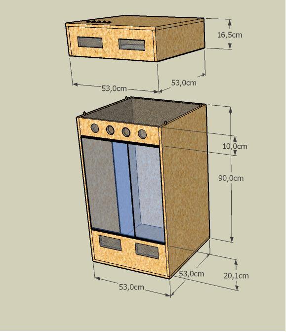 Thema anzeigen plan f r terrarium und beleuchtung nderungsvorschl ge - Terrarium ruckwand selber bauen ...