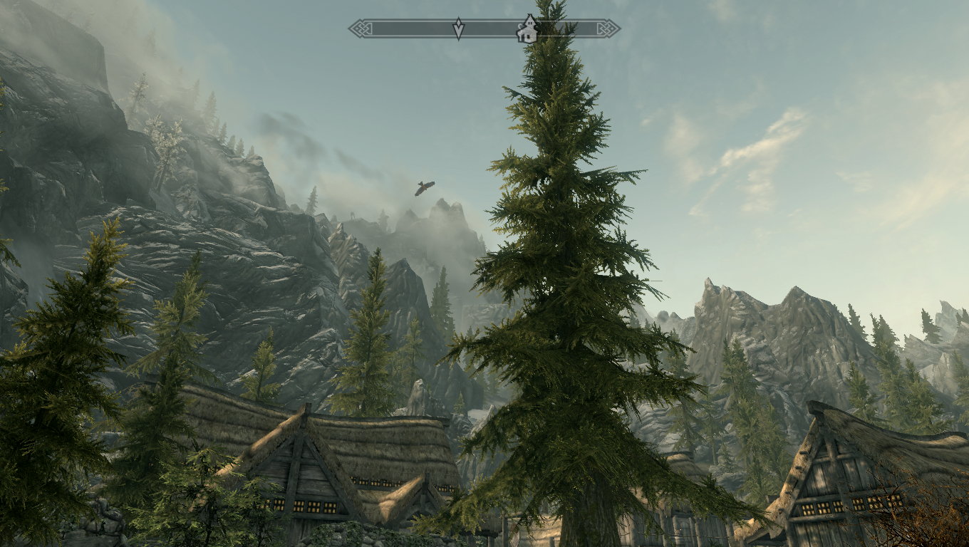 how to get better veiw distance skyrim pc