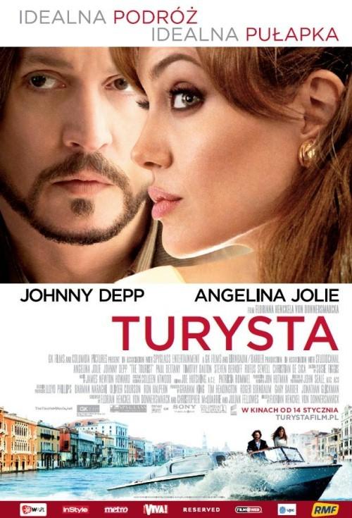 Turysta / The Tourist (2010) PL.BRRip.XviD-M69 | Lektor PL