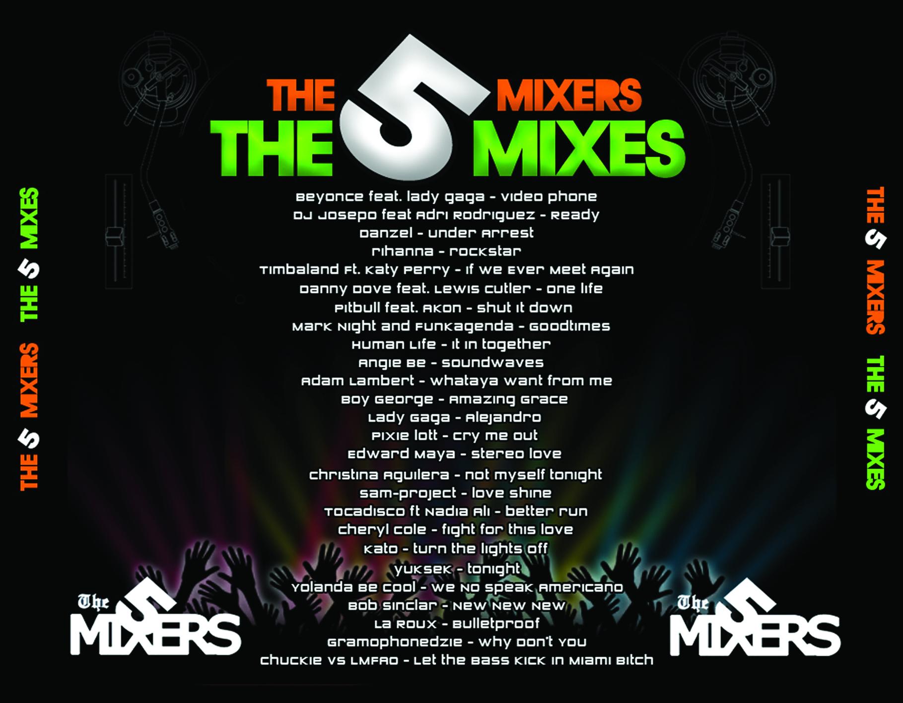 The 5 mixers - Megamix 2010