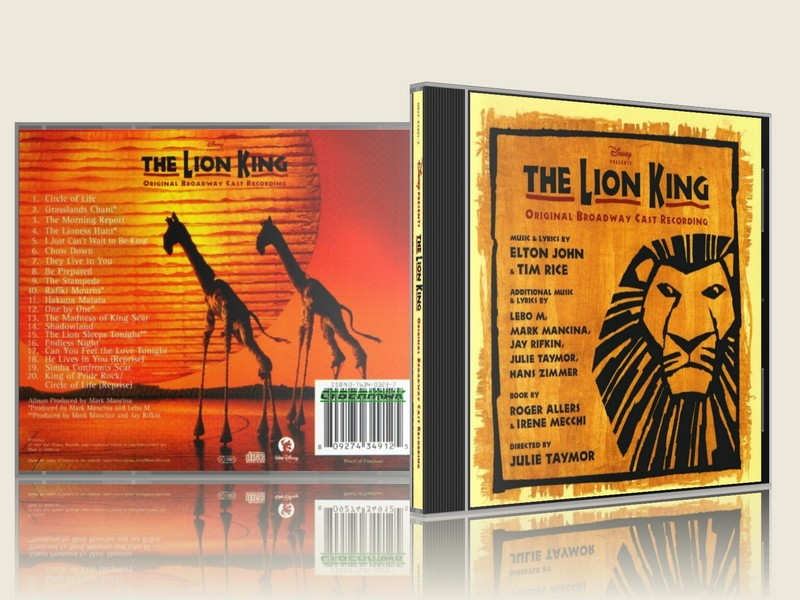 The Lion King Musical - Original Broadway Cast Recording FLAC