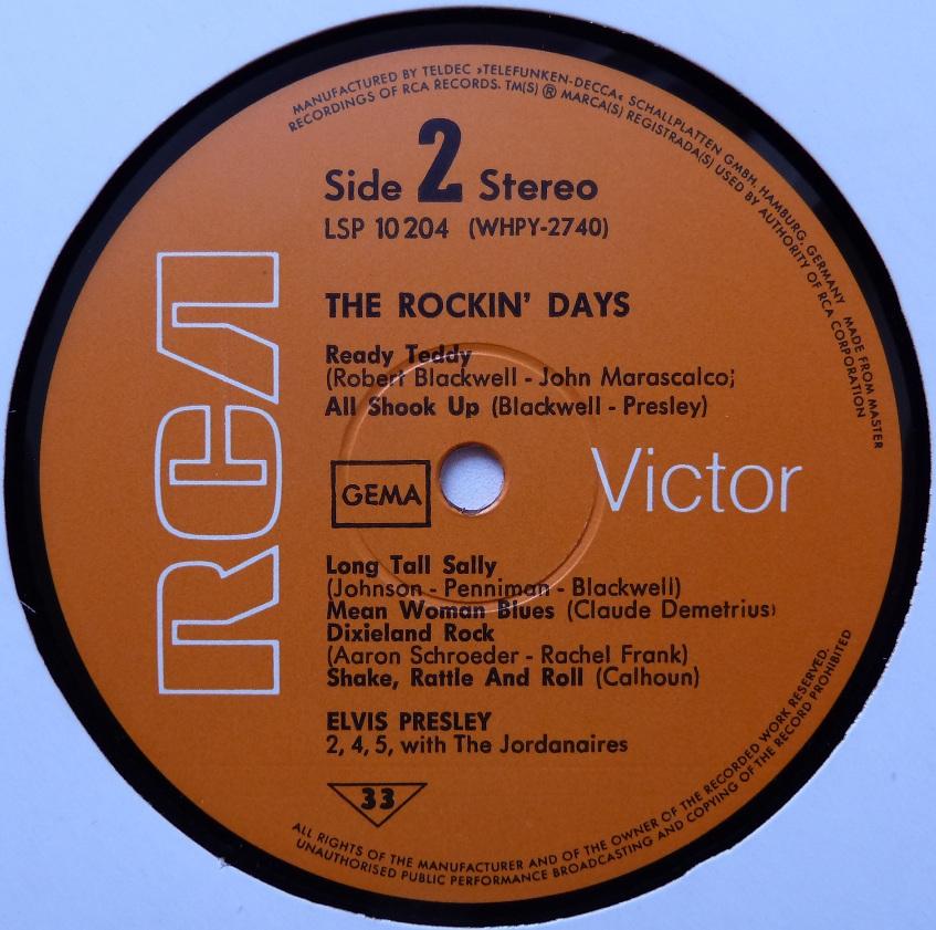 THE ROCKIN' DAYS Therockindays74side2gfq8r