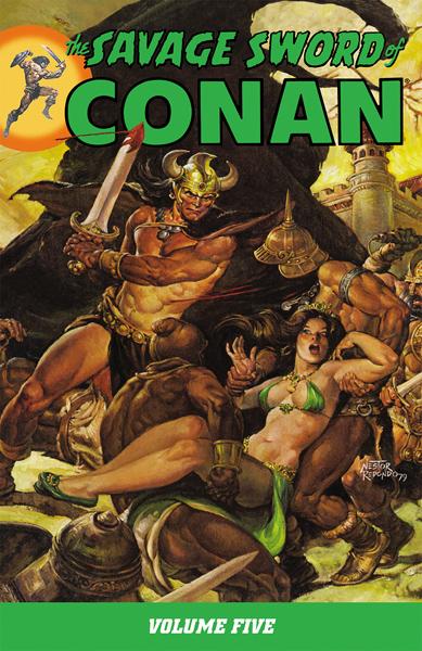 The Savage Sword of Conan v05 (2009)