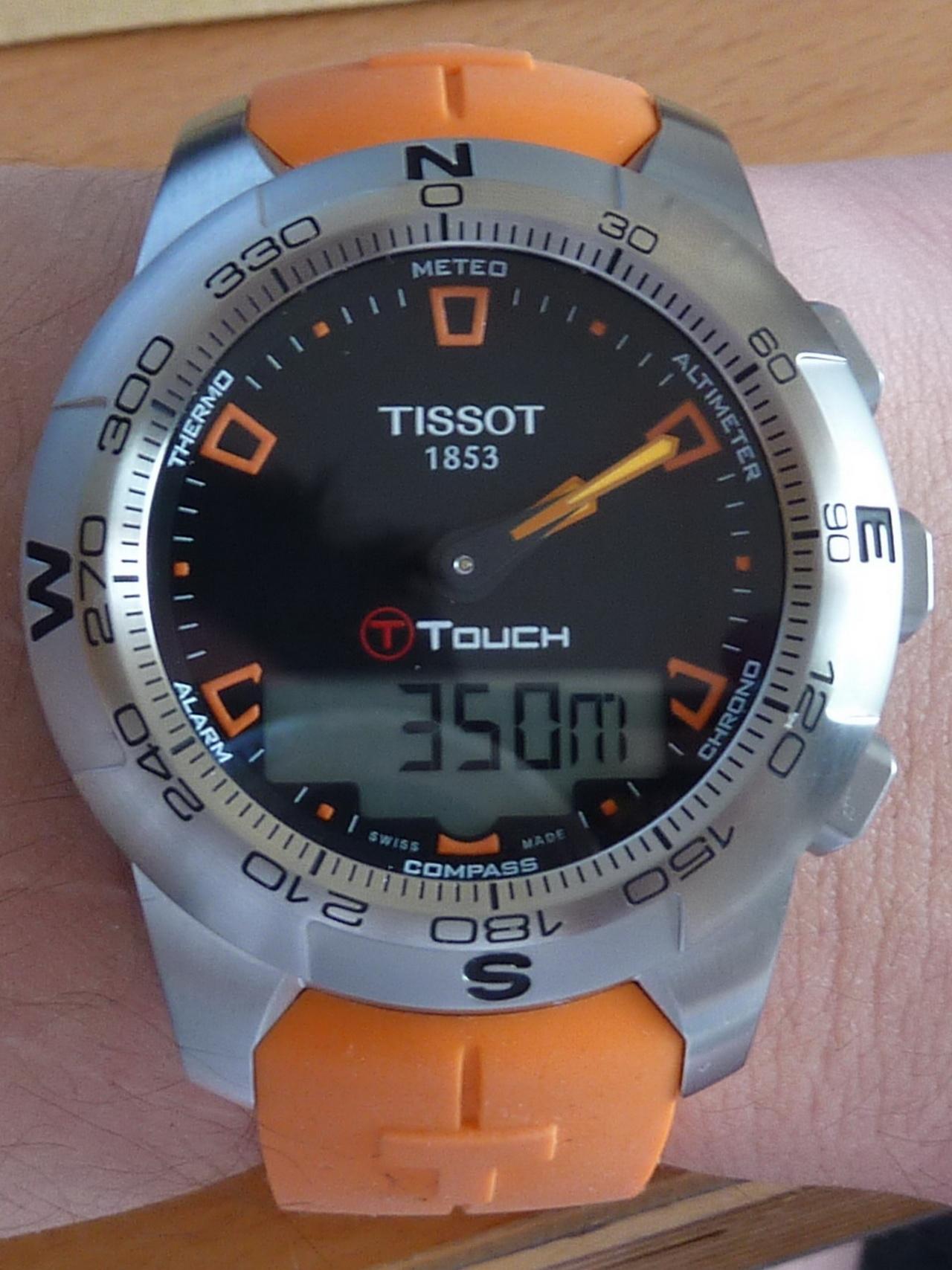 tissot010w9c7 Elegantes Uhr Mit Temperaturanzeige Dekorationen