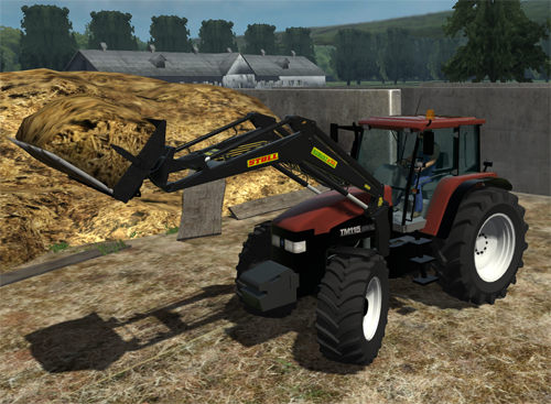 New Holland TM 115 FL (reflective skin) v2