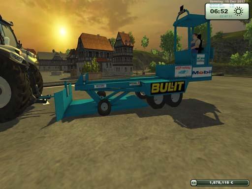 Tractor pulling sled v 1.0