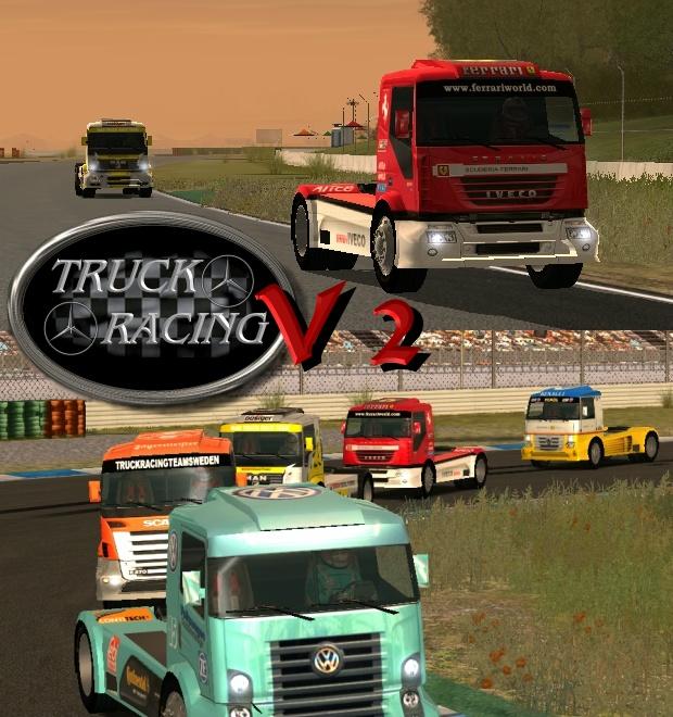Wr2 conv rel mercedes benz truck racing mod v2 for Mercedes benz car racing games