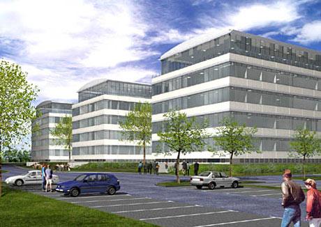 Dortmund tu fh technologiepark planung bau seite 3 deutsches architektur forum - Architekturburo dortmund ...