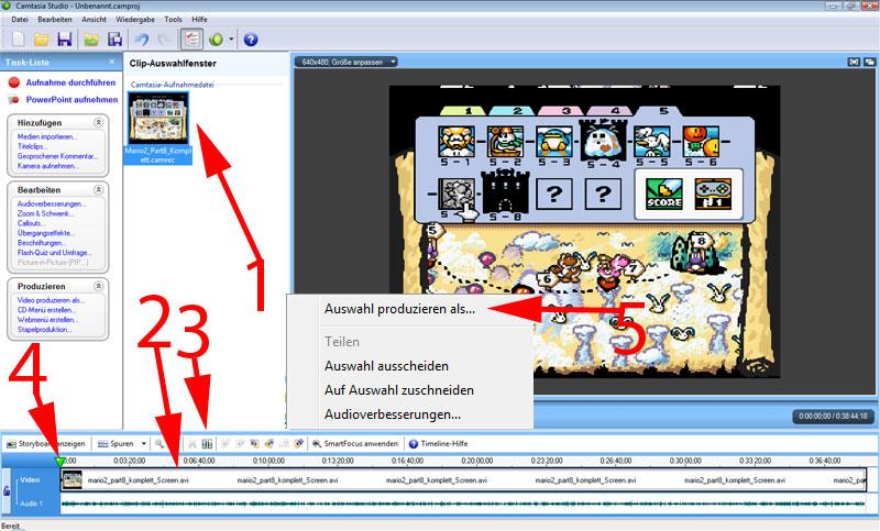 Aufnehmen von Video Spielen Tut69t0u