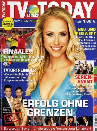 Burda Abo Shop: Jahresabo der Fernsehzeitschrift TV Today für nur 5,50€! - dank 40€ Bargeldprämie!