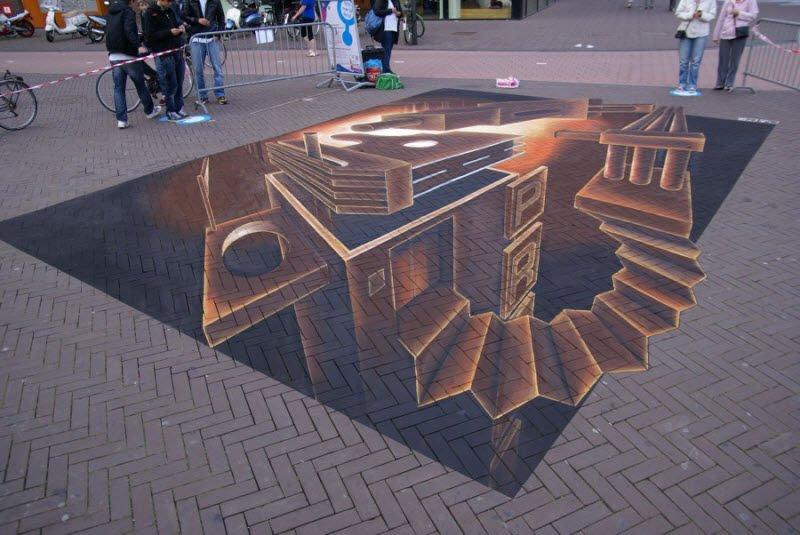 Sztuka uliczna w 3D #2 6