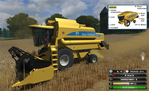 New Holland TX65 Pack (MP-ready)