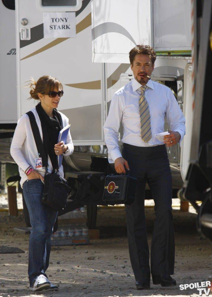 Za kulisami filmów: Iron Man 2 17