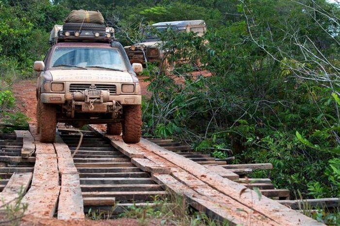 Transamazonika - najgorsza droga w Brazylii 43