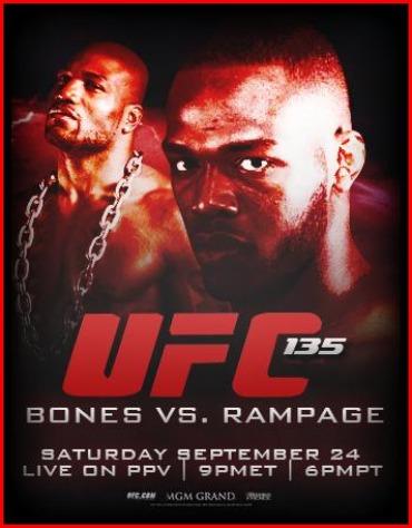 Poster via UFC