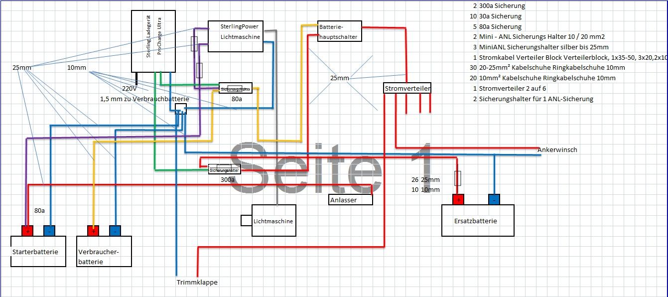 Ziemlich Zwei Batterie Schaltplan Ideen - Elektrische Schaltplan ...