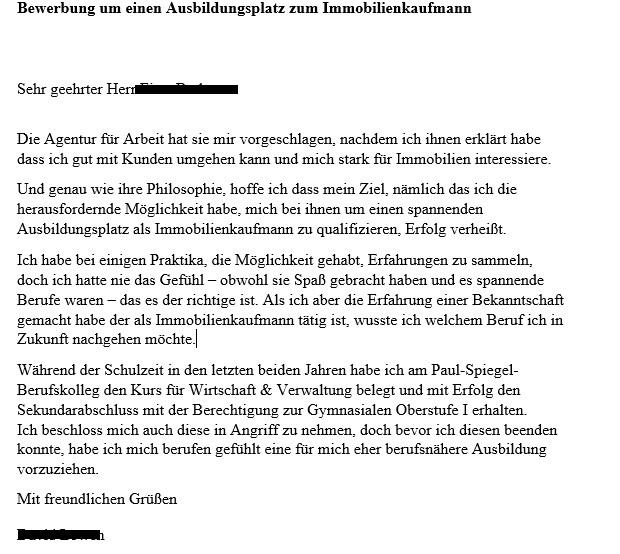 Schulabbruch Lebenslauf - Zwischenmenschliches - Cloudshare.In - Forum