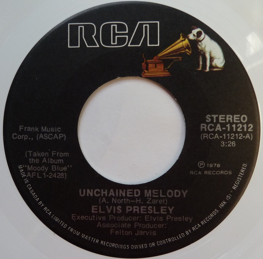 vinyl - Unchained Melody / Softly, As I Leave You (Special Limited Edition - White Vinyl) Unchainedcanadaside1l1nc6c