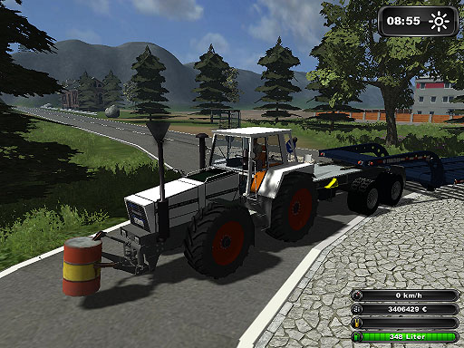 Fendt 622 BAKS TRANSPORT White Skin