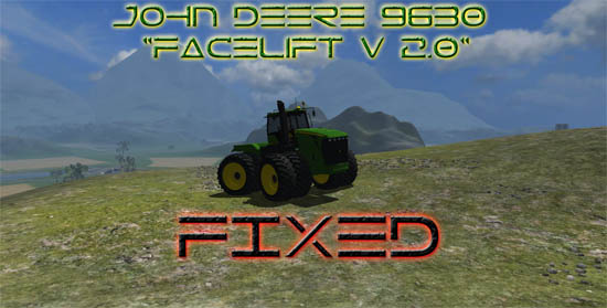 John Deere 9630 Facelift V 2.0