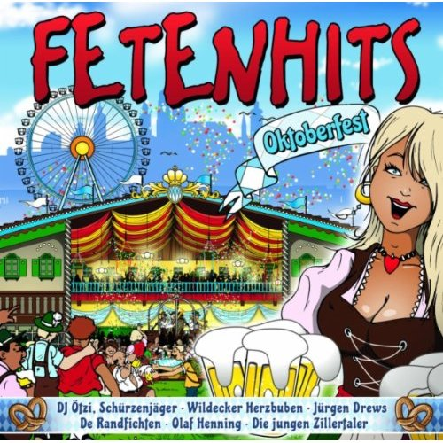 Va-Fetenhits Oktoberfest-2Cd-De-2010