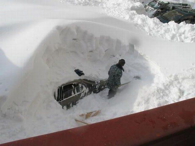 Kierowcy kontra zima 44