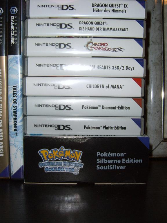 Meine DS Sammlung
