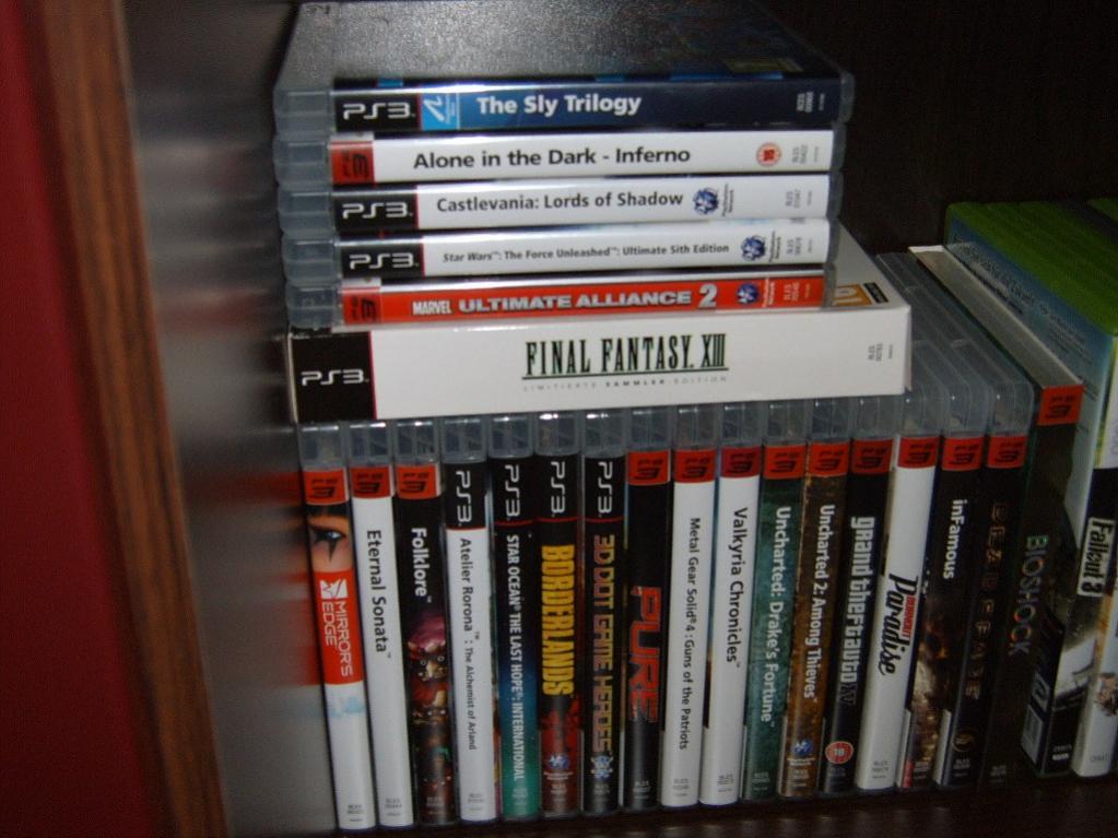 Meine PS3 Sammlung