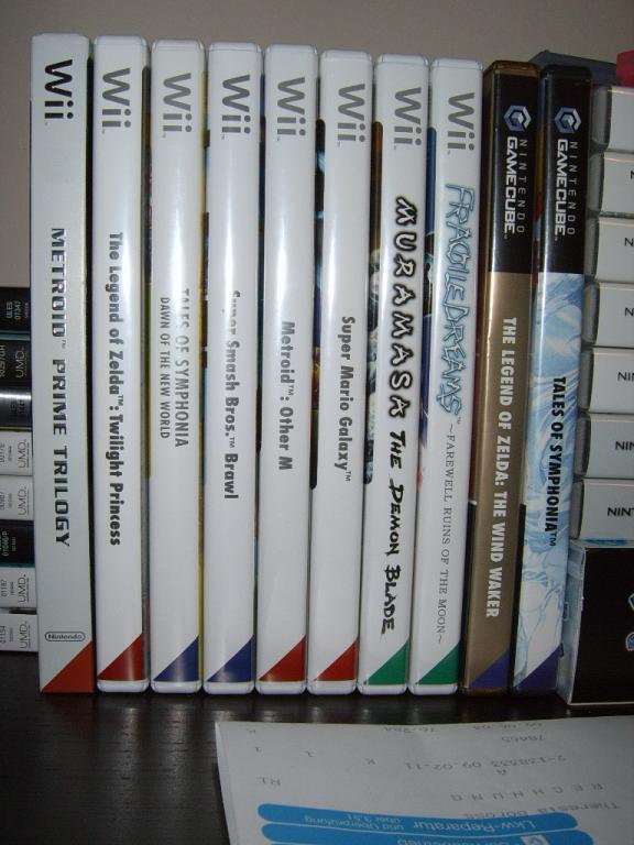 Meine Wii Sammlung