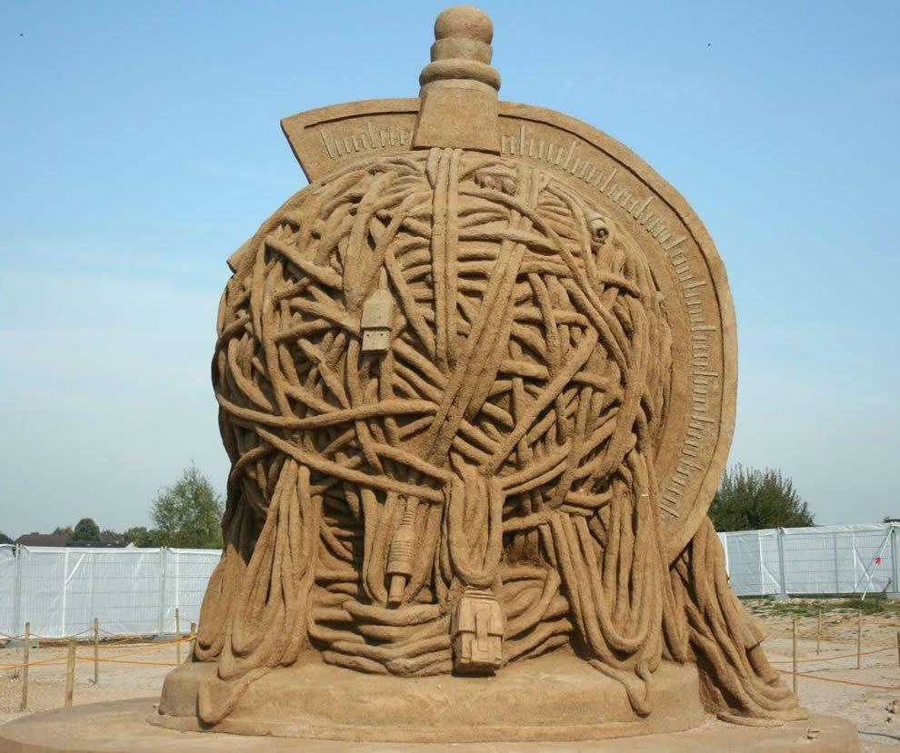 Rzeźby z piasku #5 28