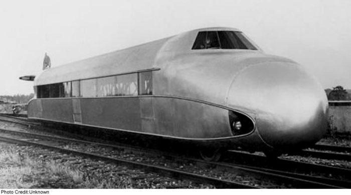 Schienenzeppelin - samolot na torach 3