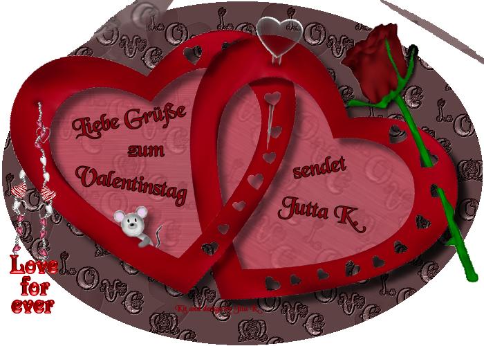 Vielen Dank Für Deinen Lieben Gruß In Meinem Gästebuch. Wünsche Dir Morgen  Einen Wunderschönen Valentinstag. Liebe Grüße Jutta