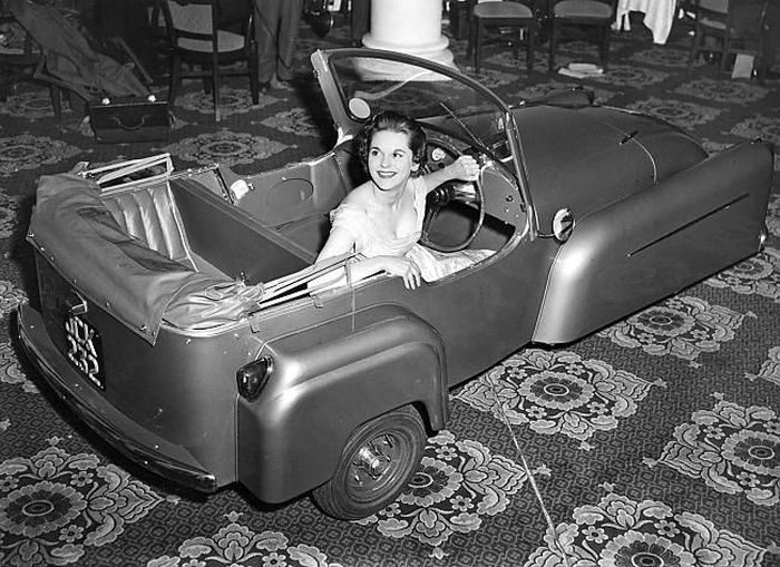Nietypowe pojazdy sprzed lat 30