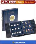 Leuchtturm Vista Album für 2 Euro Münzen 10 Jahre WWU