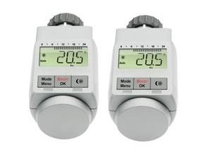 voelkner: 2x Energiesparregler (eQ-3 Heizkörper-Thermostate) für nur 24,90€ inkl. Versand - dank Gutschein!