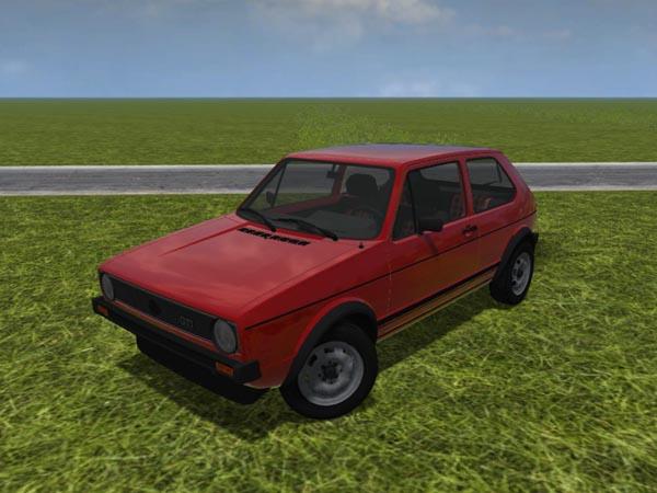 Volkswagen Golf I v 1.0 [MP]