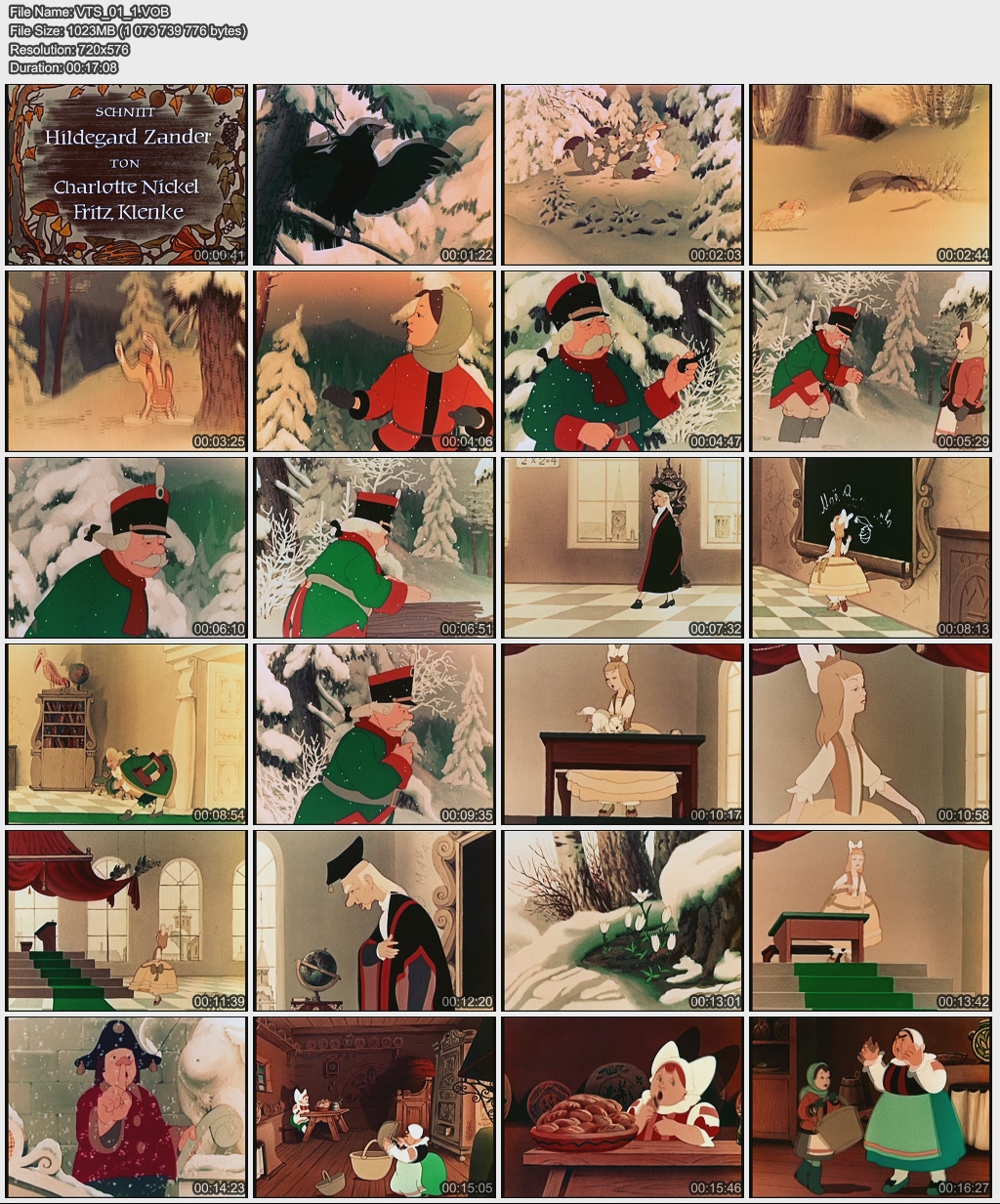 Die zwölf Monate / 12 месяцев (1956) DVD-5 [De]