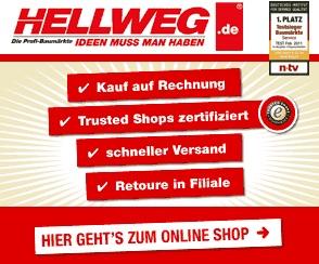 Anzeige Hellweg Baumarkt