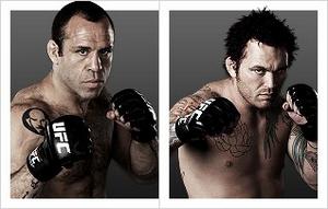 Wanderlei Silva (33-10-1) vs. Chris Leben (25-7) (Foto via Zuffa LLC)