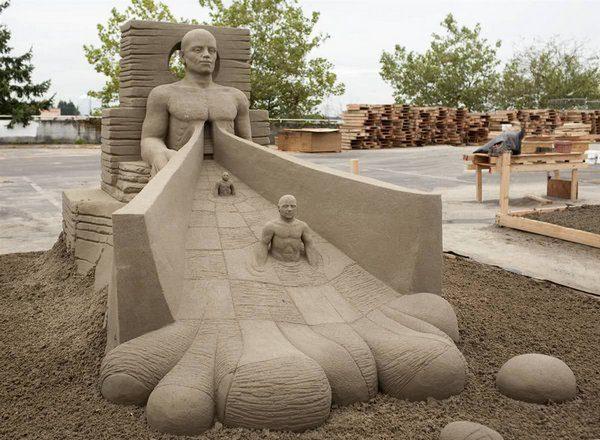 Rzeźby z piasku #3 73