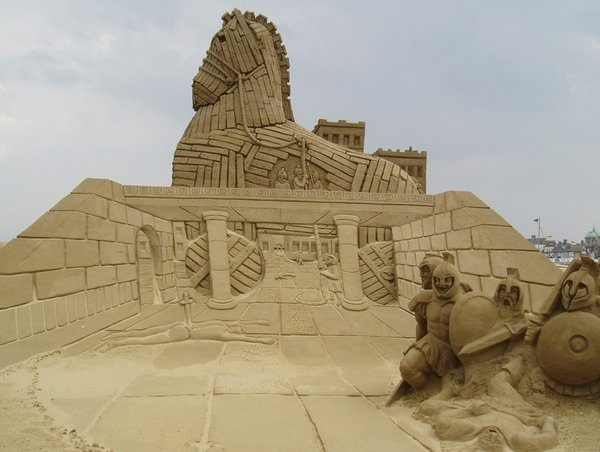 Rzeźby z piasku #3 80