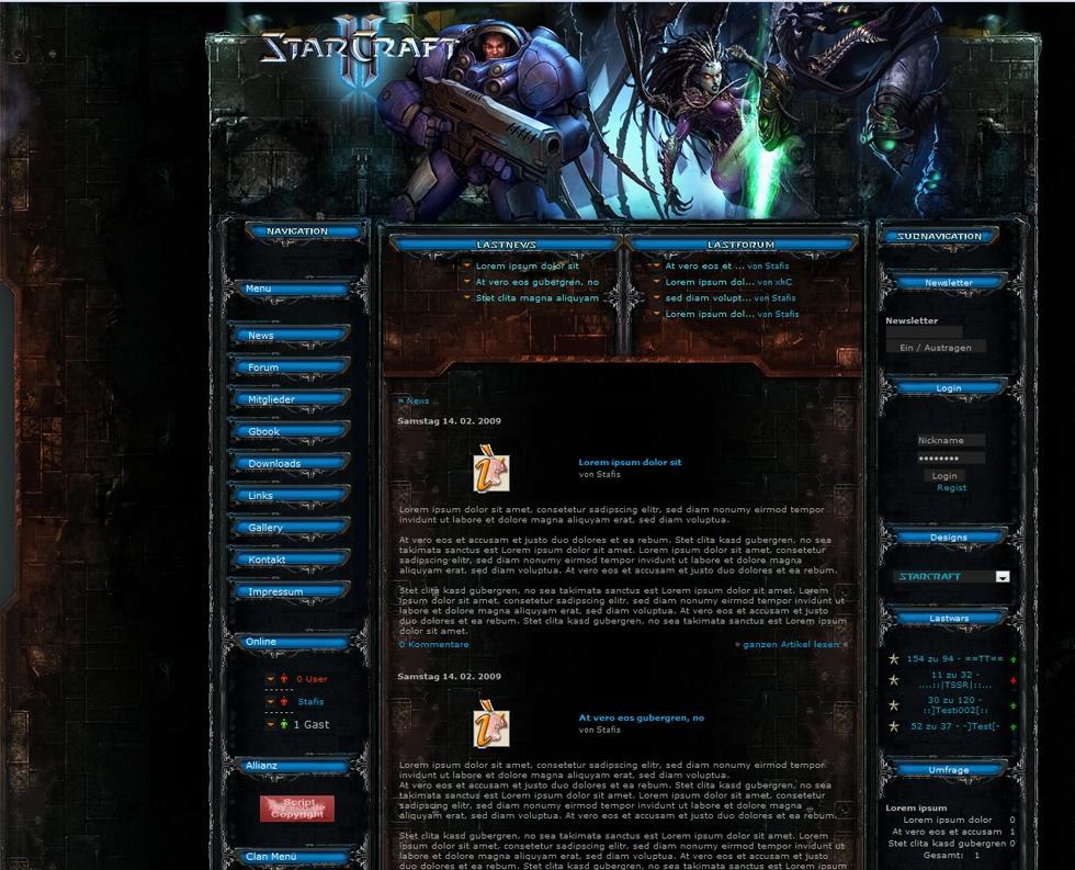 wow templates wow forum