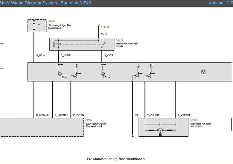Stromlaufplan E46