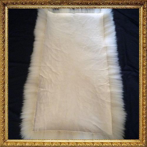 lammfell schaffell stuhlauflage bankauflage 80x40x6cm sitzauflage sitzpolster ebay. Black Bedroom Furniture Sets. Home Design Ideas