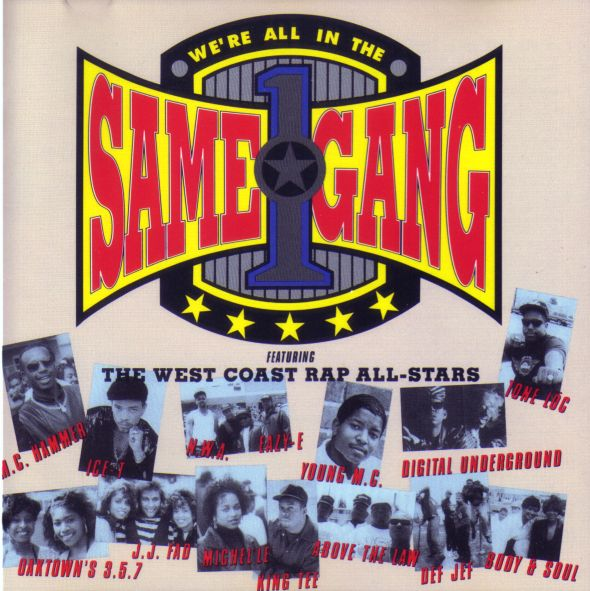 We're All In The Same Gang-Various Artists (1990)