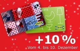 Anzeige IKEA Gutschein