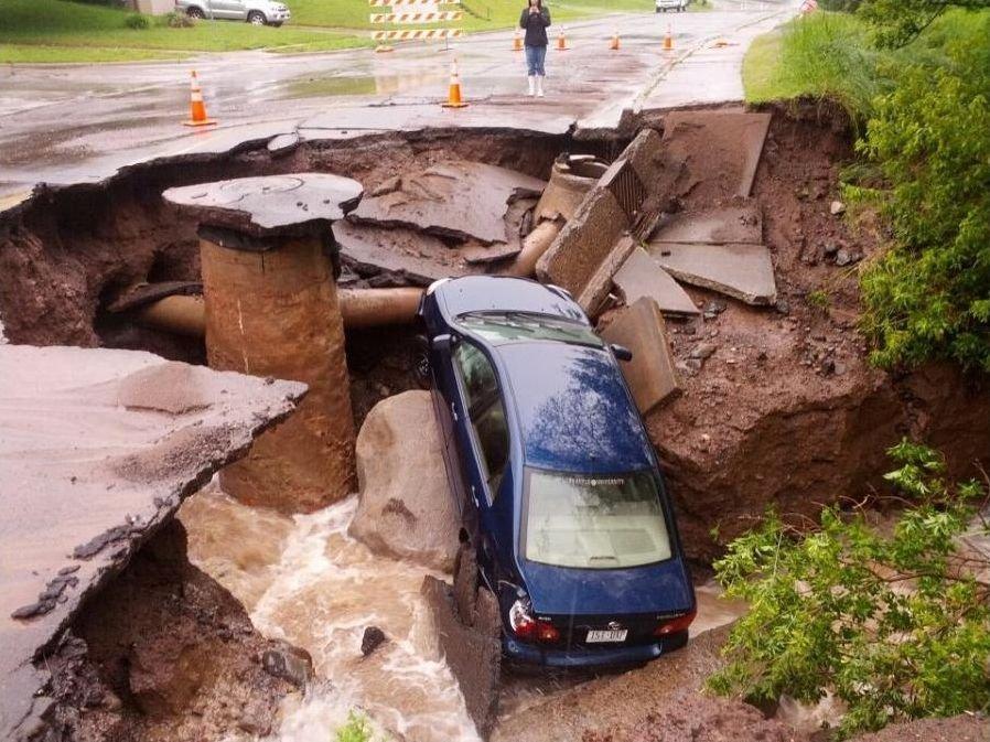 Powódź w Duluth 1