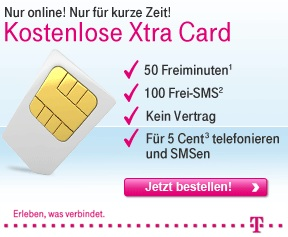 T-Mobile Anzeige